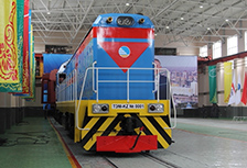 The first shunting locomotive ТEМ-KZ