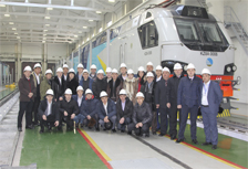 Students of KazATK visited the railway enterprises in Astana