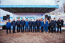 Our railwaymen again contributed to the development of the transport capacities of Kazakhstan!